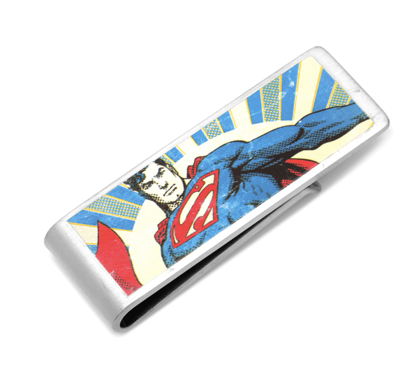 Vintage Superman Money Clip BY DC COMICS - MarkandMetal.com