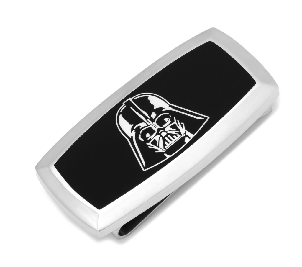 Darth Vader Cushion Money Clip BY STAR WARS - Groomsmen Groom Wedding Gift For Him