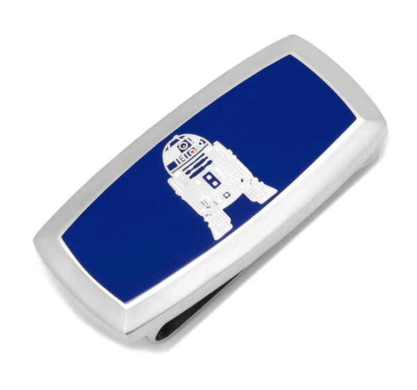R2D2 Cushion Money Clip BY STAR WARS - MarkandMetal.com