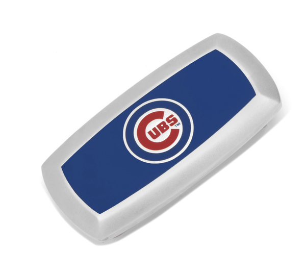 Chicago Cubs Cushion Money Clip BY MLB - MarkandMetal.com