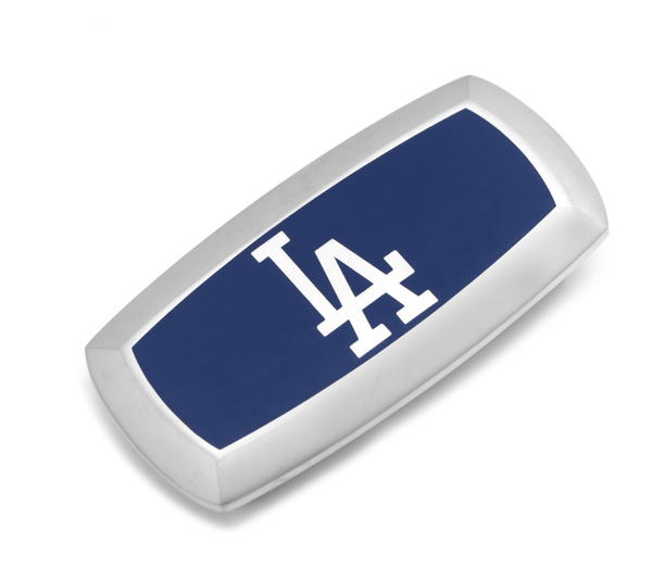 LA Dodgers Cushion Money Clip BY MLB - MarkandMetal.com