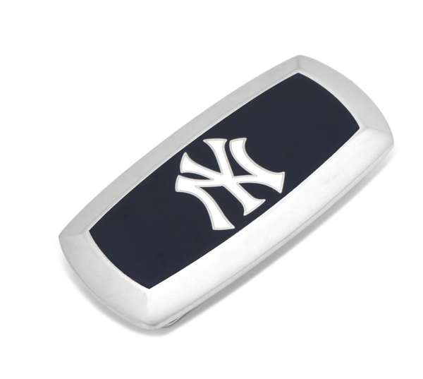 Yankees Pinstripe Cushion Money Clip BY MLB - Men's Accessories and gifts for him