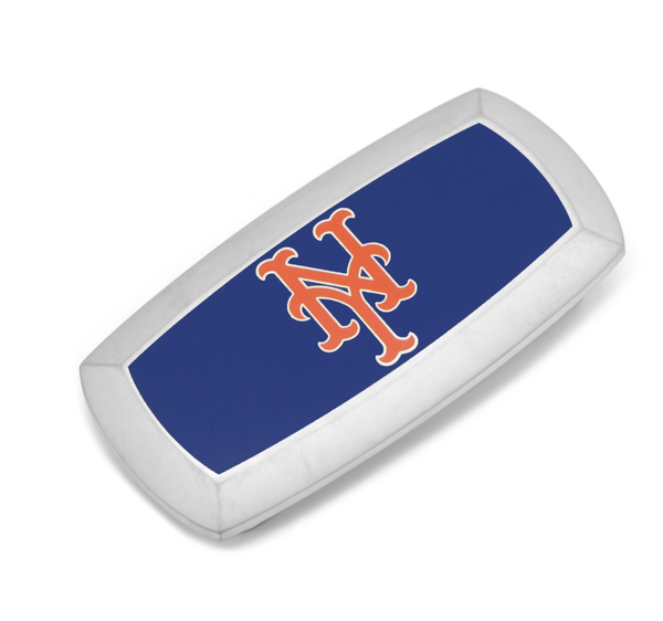 New York Mets Cushion Money Clip BY MLB - MarkandMetal.com