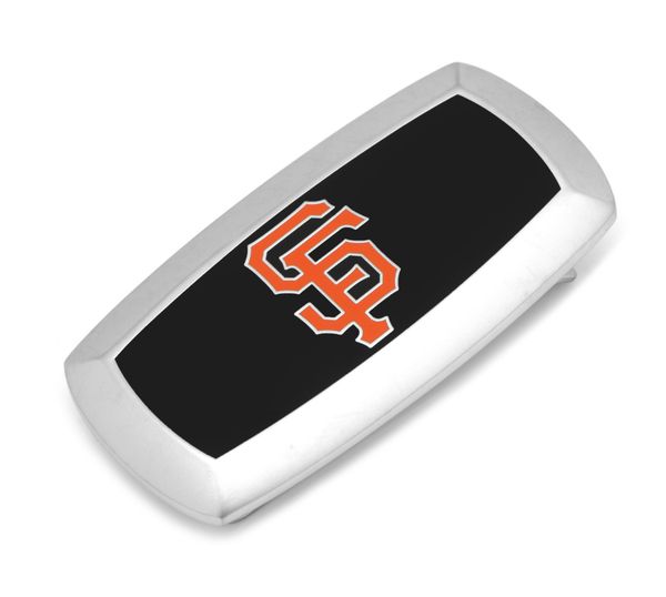 San Francisco Giants Cushion Money Clip BY MLB - MarkandMetal.com