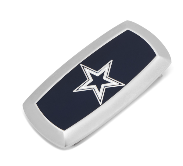 Dallas Cowboys Cushion Money Clip BY NFL - MarkandMetal.com