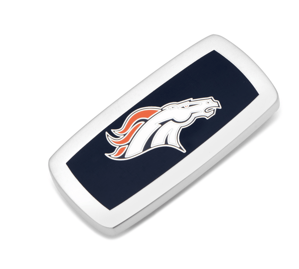 Denver Broncos Cushion Money Clip BY NFL - MarkandMetal.com