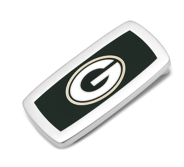 Green Bay Packers Cushion Money Clip BY NFL - MarkandMetal.com