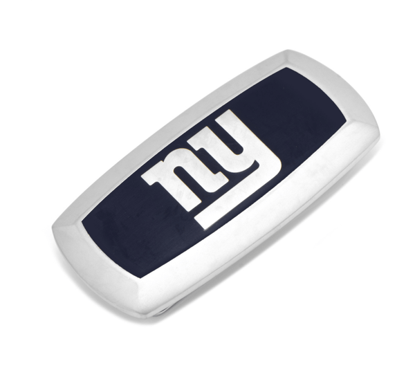 New York Giants Cushion Money Clip BY NFL - MarkandMetal.com