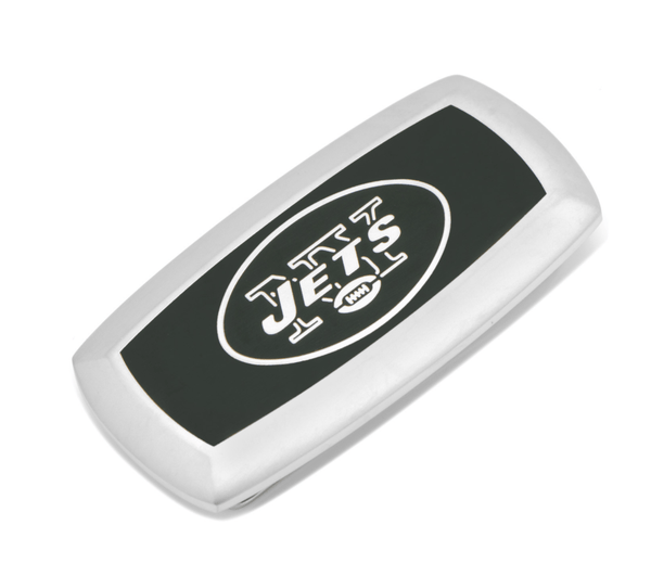 New York Jets Cushion Money Clip BY NFL - MarkandMetal.com