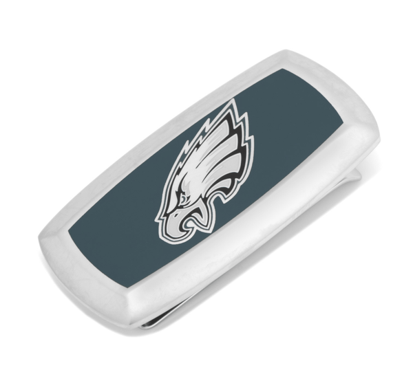 Philadelphia Eagles Cushion Money Clip BY NFL - MarkandMetal.com