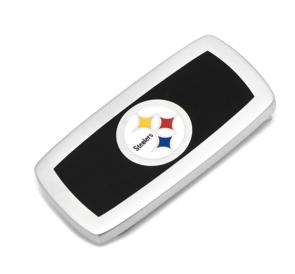 Pittsburgh Steelers Cushion Money Clip BY NFL - MarkandMetal.com