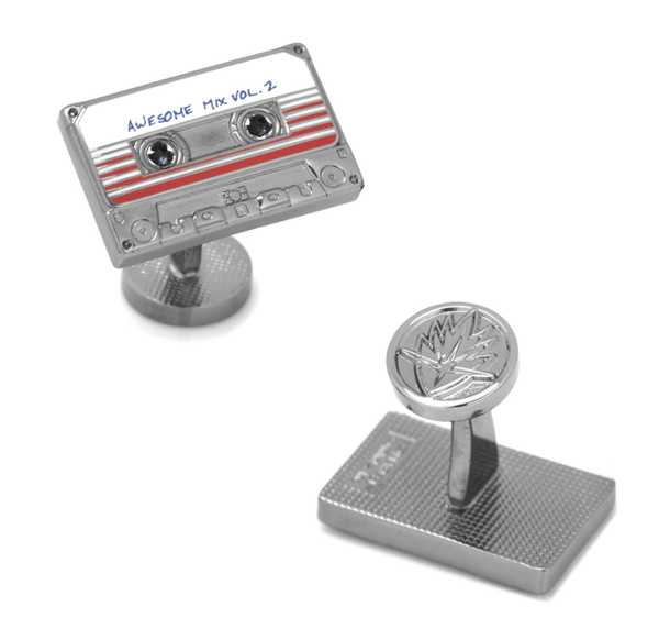 Awesome Mix Tape No. 2 Cufflinks BY MARVEL - MarkandMetal.com