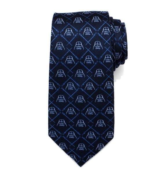 Darth Vader Lightsaber Blue Tie BY STAR WARS - Groomsmen Groom Wedding Gift For Him