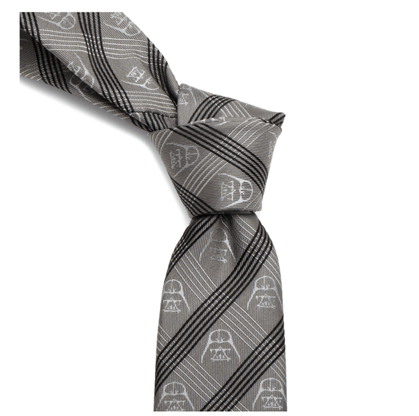 Darth Vader Gray Plaid Tie BY STAR WARS - Men's Accessories and gifts for him