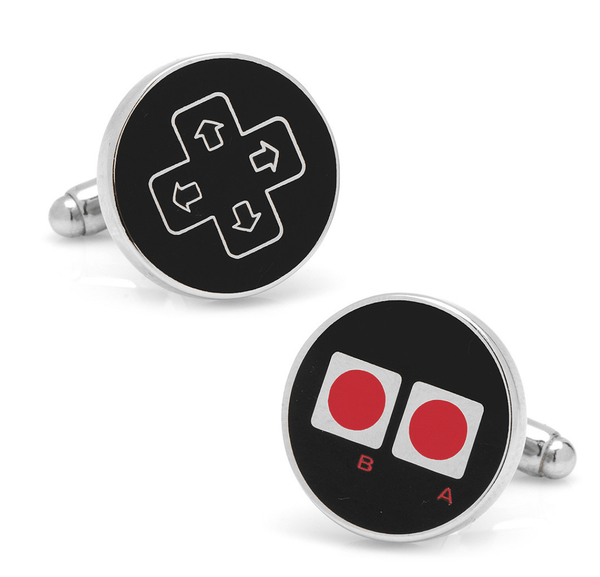 Retro Gamer Cufflinks - MarkandMetal.com