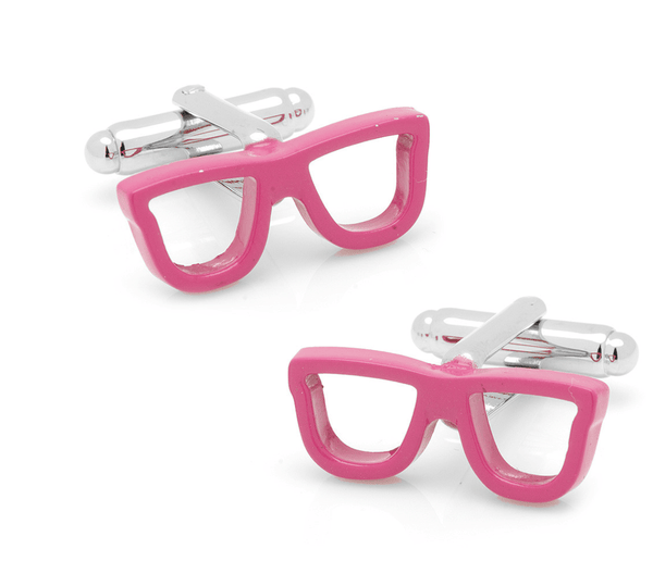 Cool Cut Pink Shades Cufflinks - MarkandMetal.com