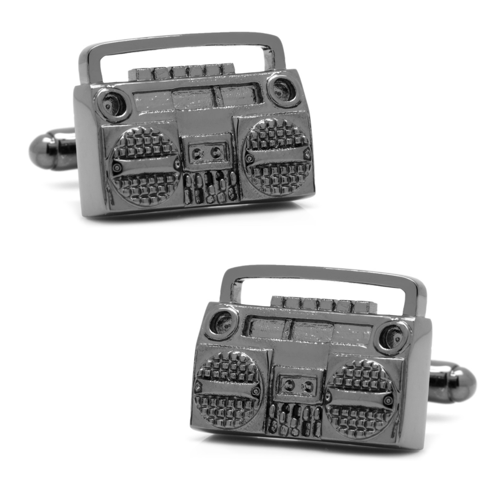 Boombox Retro Cufflinks - Men's Accessories and gifts for him