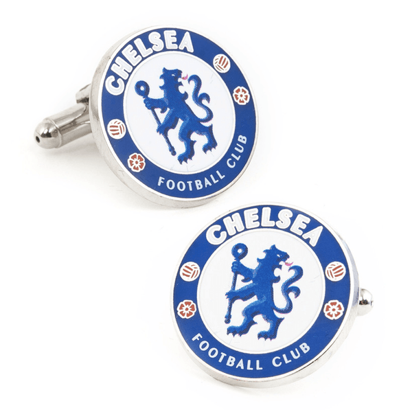 Chelsea FC Cufflinks BY PREMIER LEAGUE - Groomsmen Groom Wedding Gift For Him
