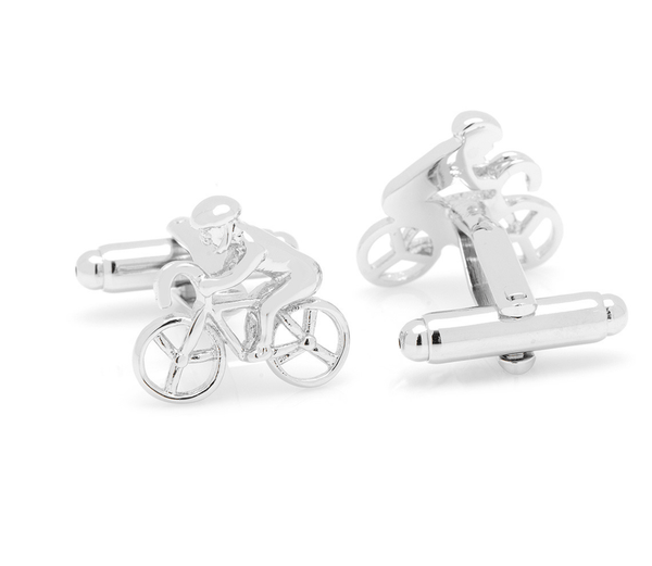 Cyclist Cufflinks - MarkandMetal.com