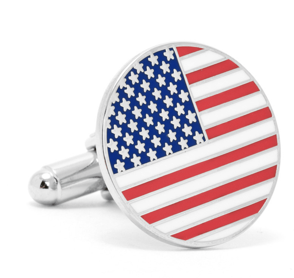 American Flag Cufflinks - Men's Accessories and gifts for him