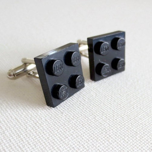 LEGO Tiles Cufflinks - MarkandMetal.com