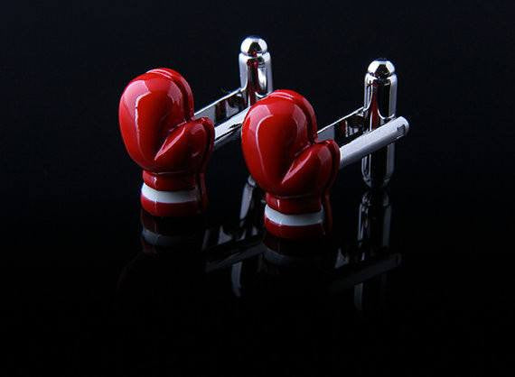 Boxing Cufflinks - MarkandMetal.com