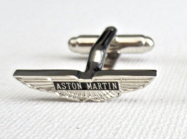 Aston Martin Cufflinks Car Logo - MarkandMetal.com
