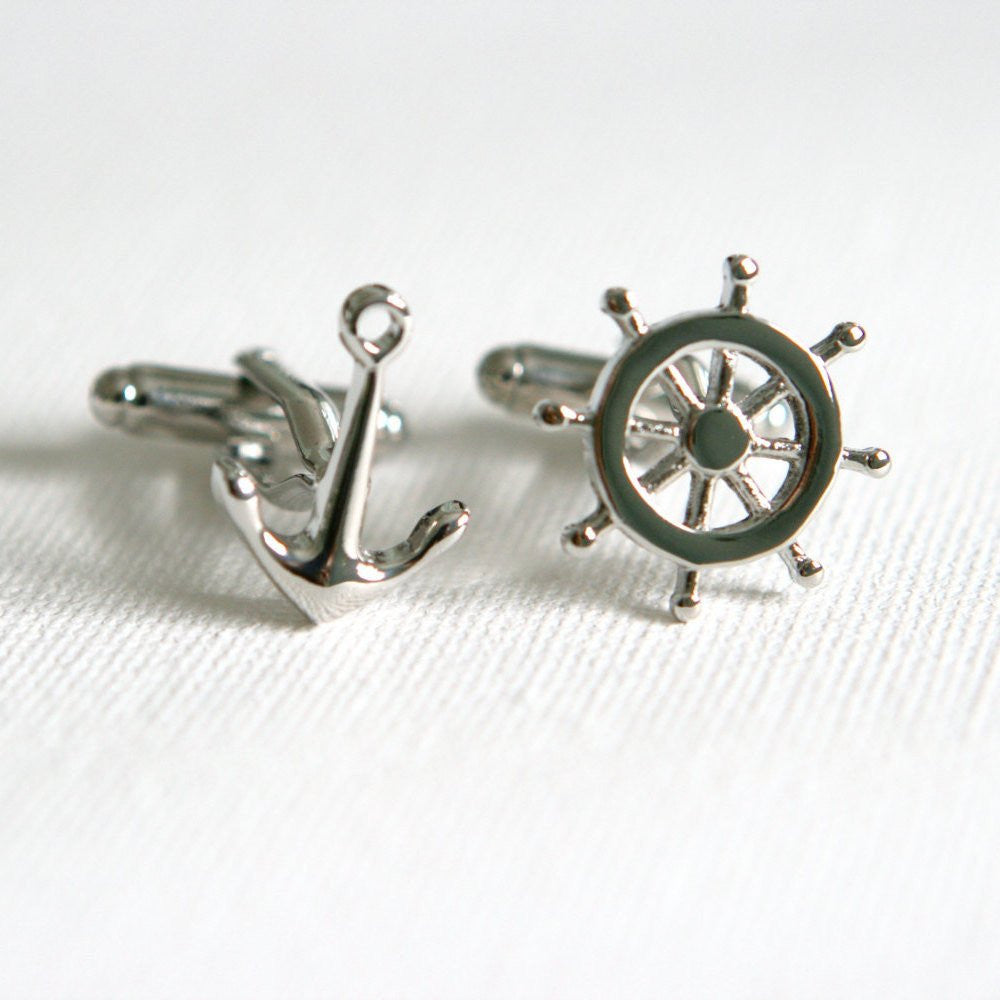 Nautical Cufflinks - MarkandMetal.com