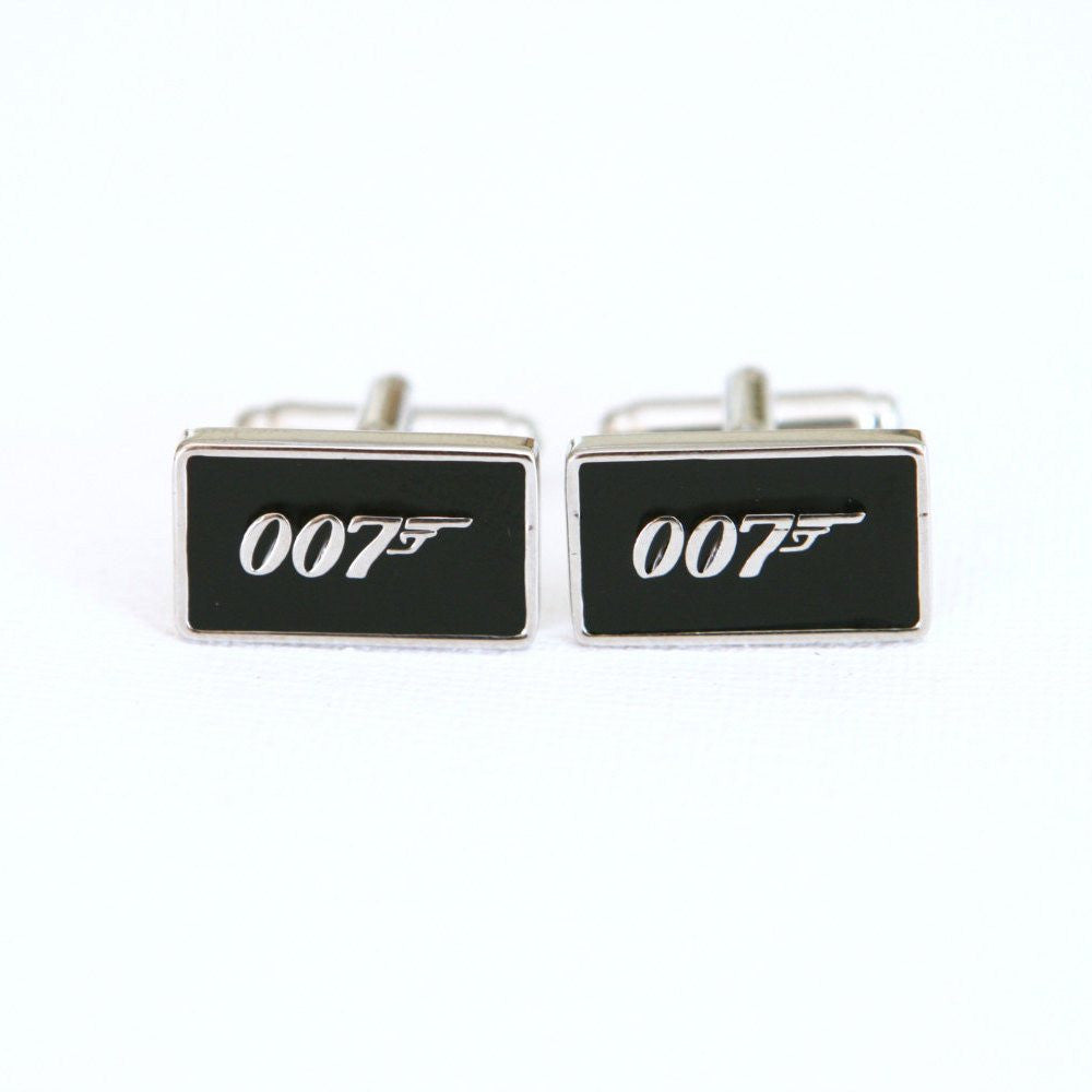 James Bond 007 Spy Cufflinks - MarkandMetal.com
