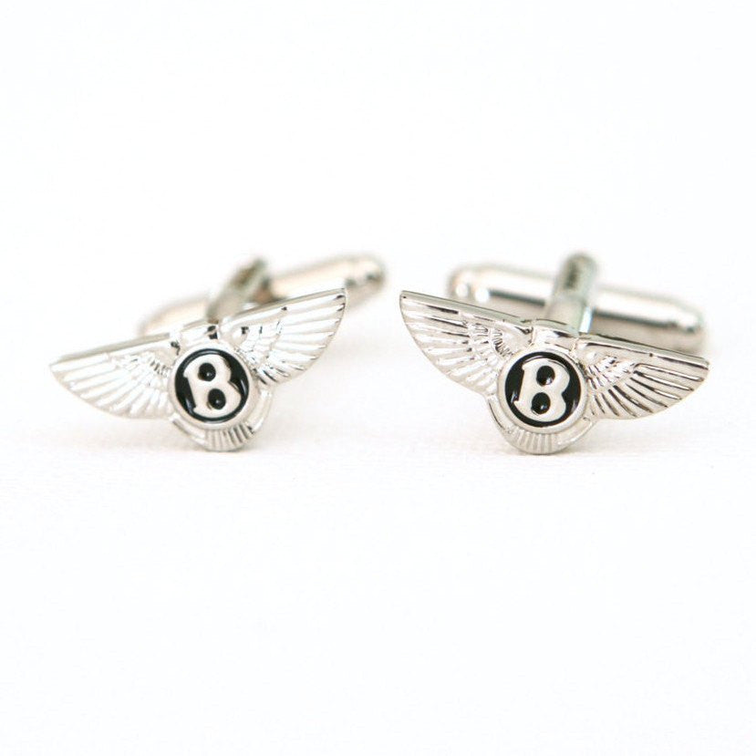 Bentley Cufflinks Car Logo - MarkandMetal.com