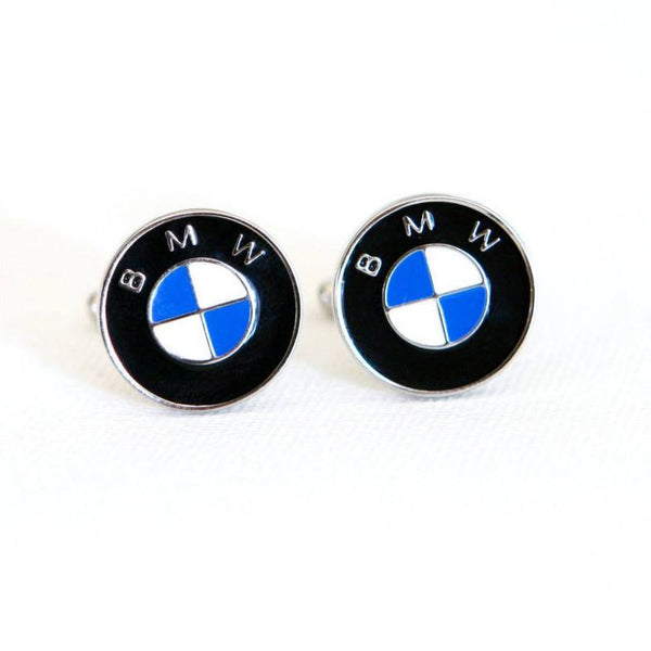 BMW Cufflinks Car Logo - Groomsmen Groom Wedding Gift For Him