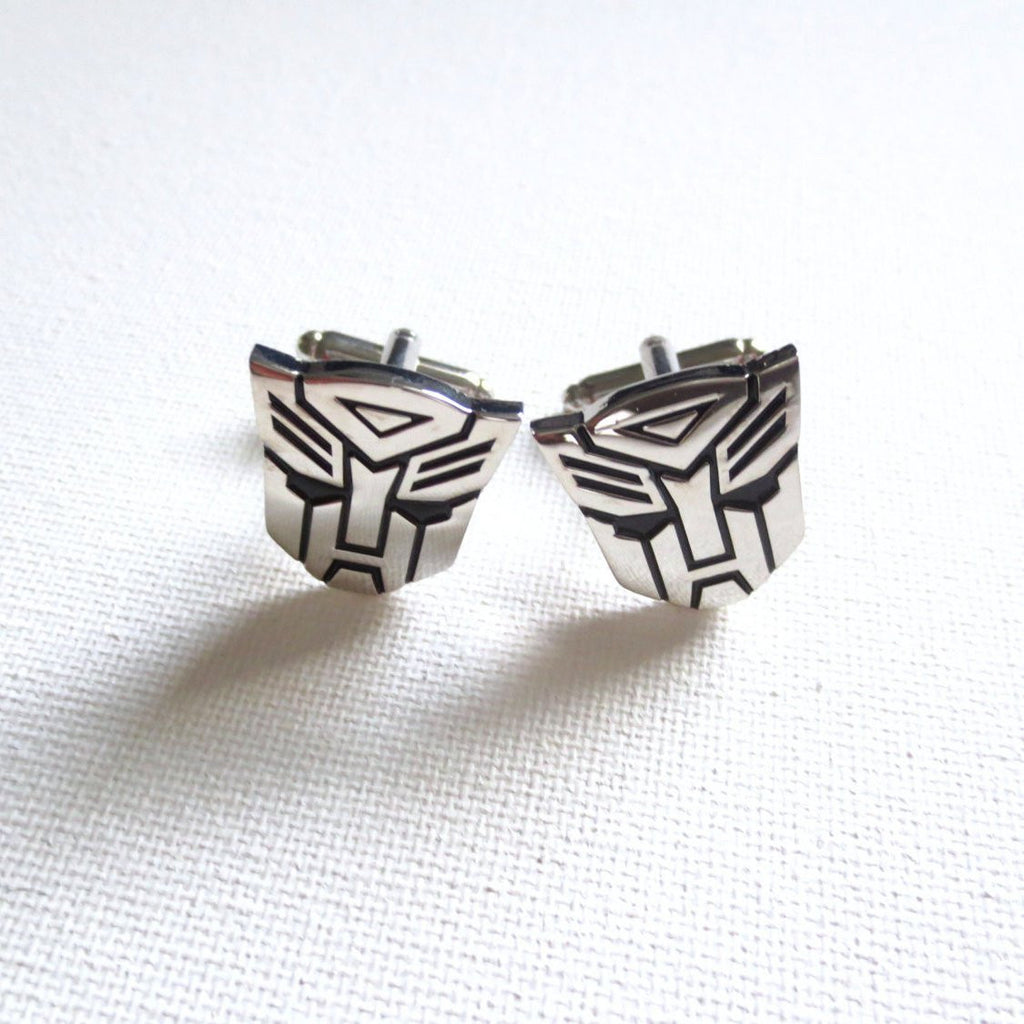 Transformers Cufflinks - MarkandMetal.com