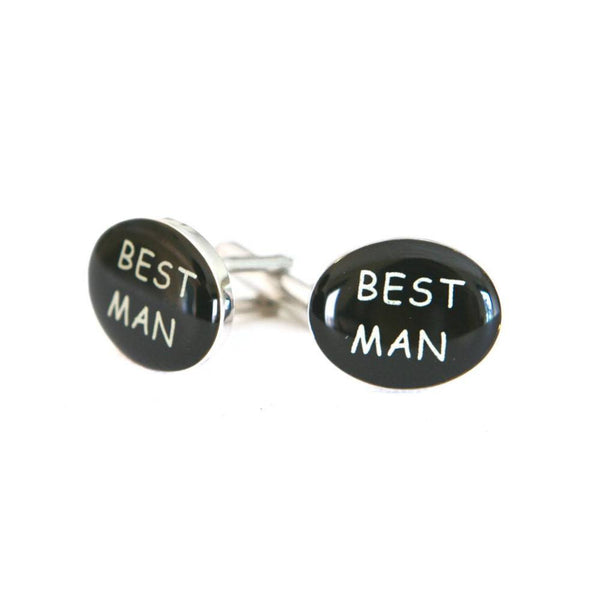 Best Man Wedding Cufflinks - Groomsmen Groom Wedding Gift For Him