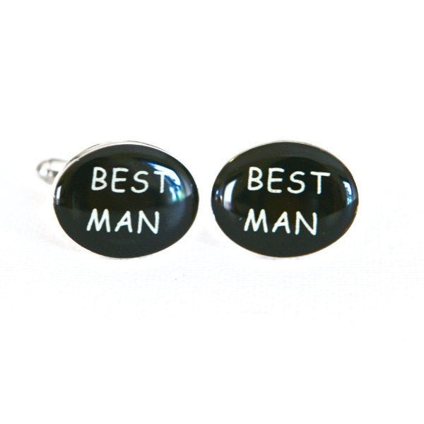 Best Man Wedding Cufflinks - MarkandMetal.com