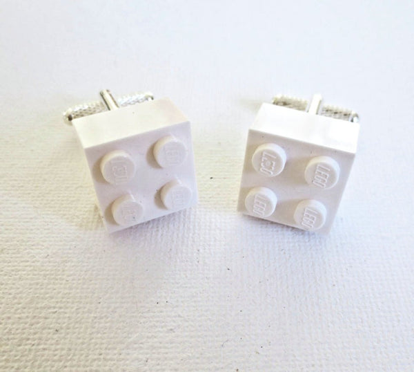 LEGO Bricks Cufflinks - MarkandMetal.com