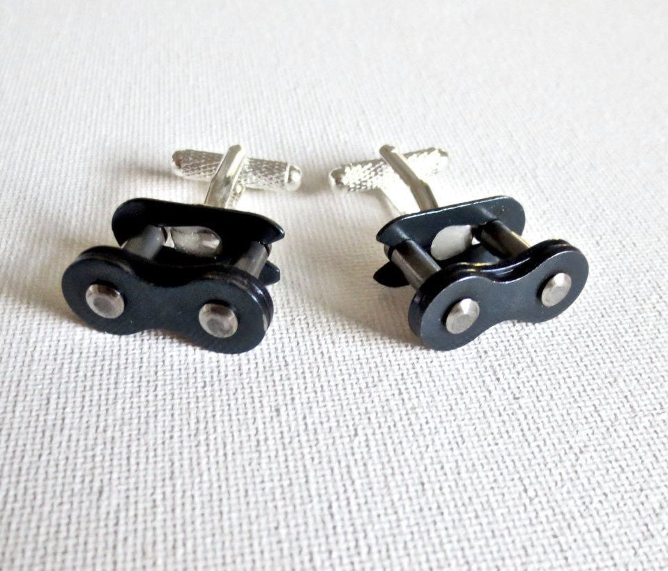 Bicycles Bike Cufflinks - Groomsmen Groom Wedding Gift For Him
