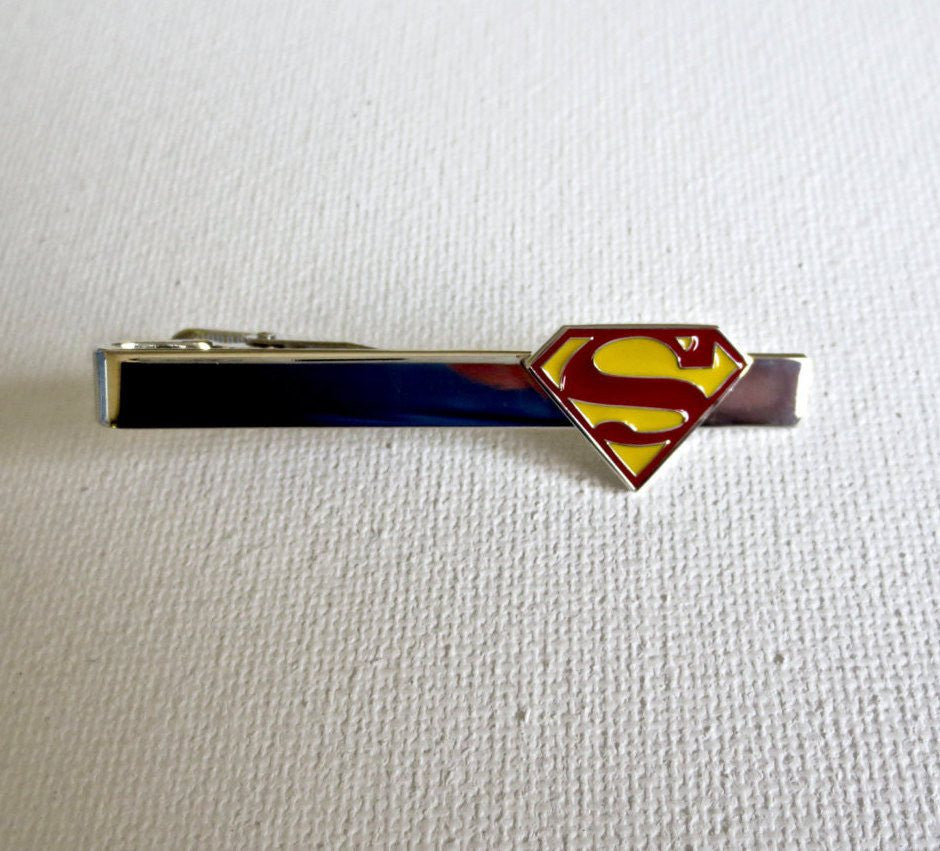 Superman Tie Clips - MarkandMetal.com