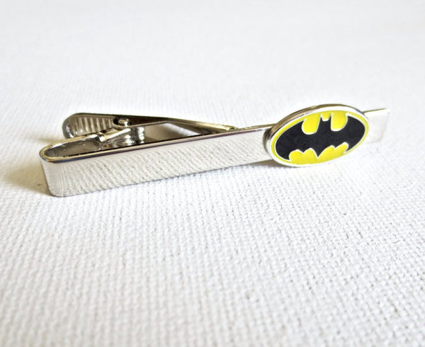 Batman Tie Clip - Groomsmen Groom Wedding Gift For Him