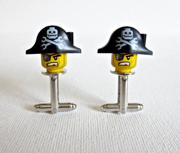 LEGO Pirate Cufflinks - MarkandMetal.com