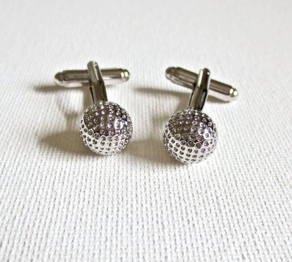 Golf Balls Player Cufflinks - Men's Accessories and gifts for him
