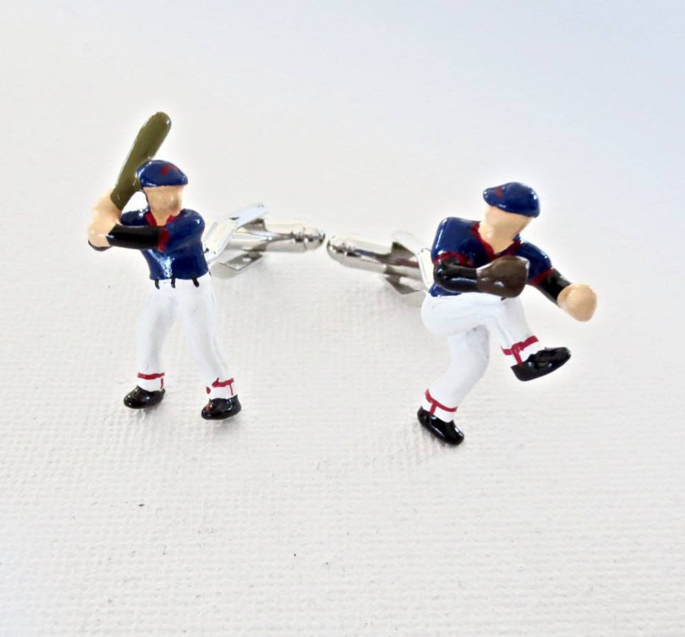 Baseball Cufflinks - Men's Accessories and gifts for him