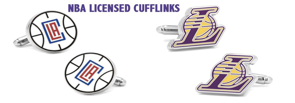 NBA Basketball Cufflinks