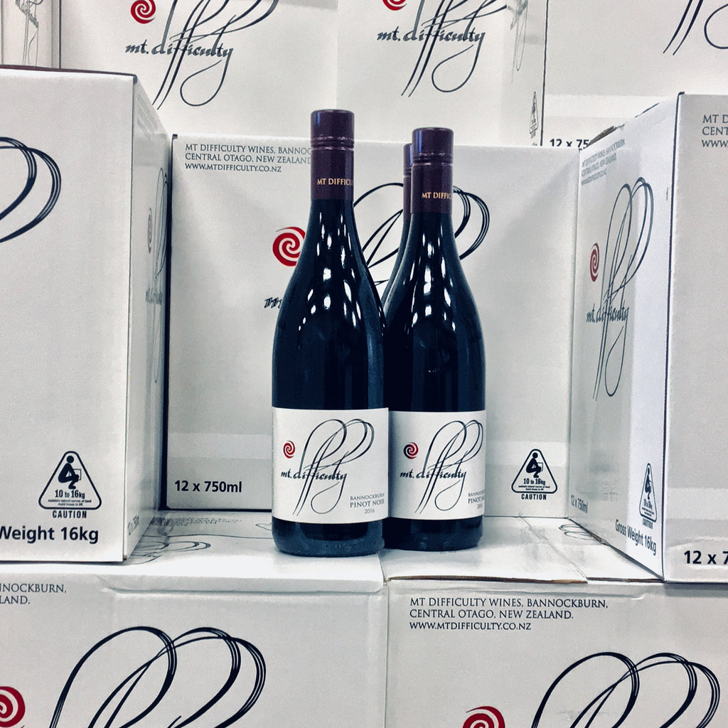 NEW RELEASE <br/> MT DIFFICULTY BANNOCKBURN PINOT NOIR 2016