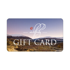 Website Shop Only Gift Card