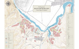 Bannockburn Vineyard Owners Map