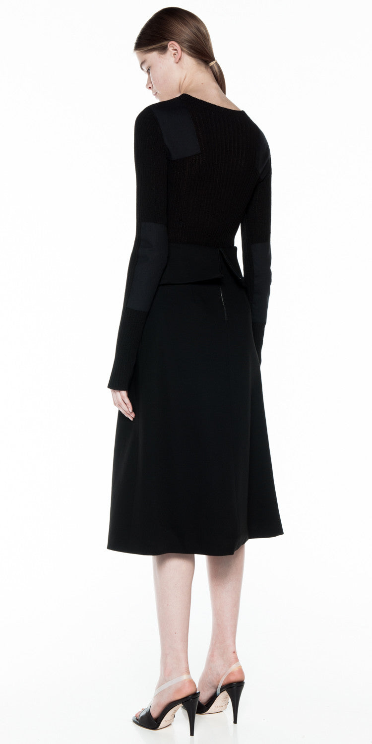 Tailored Coil Skirt