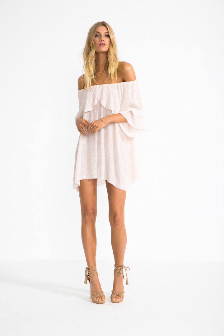 Off Shoulder Perfect Day Dress