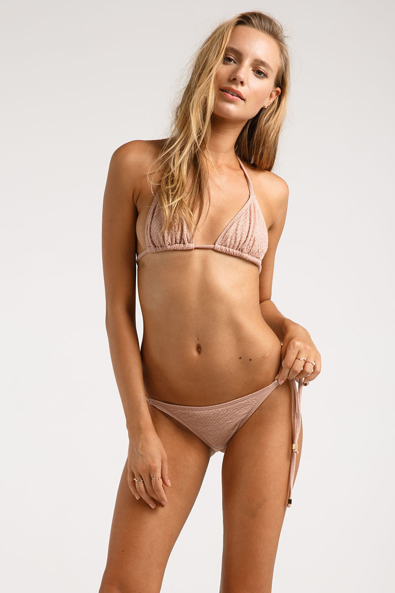 Rose Gold String Bikini