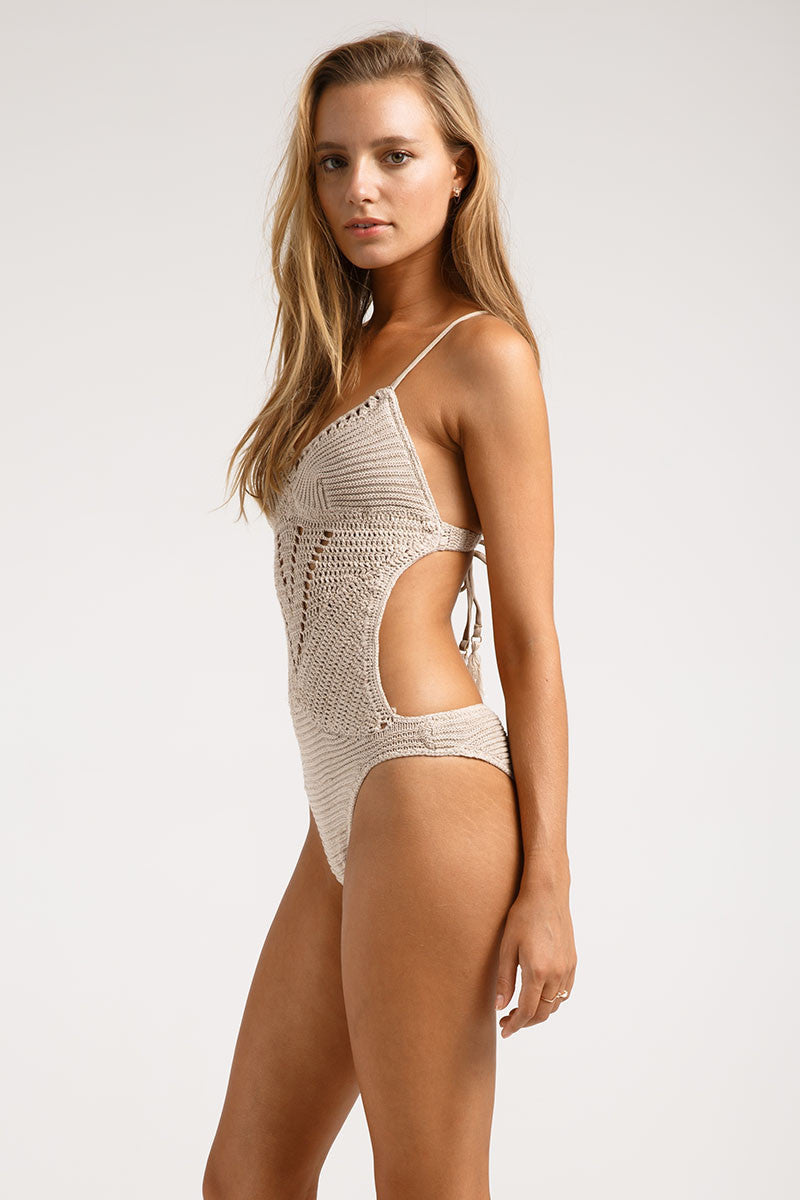 Crochet Cut Out One Piece