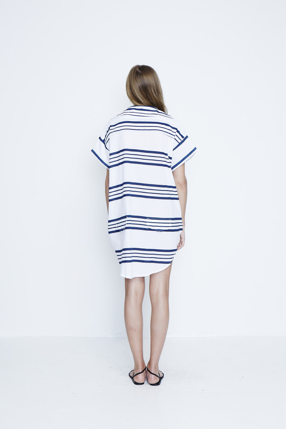Avalon Shirt Dress Goa Stripe
